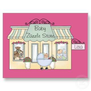 Pinky Baby Store   Customized yourself this postcard you can change