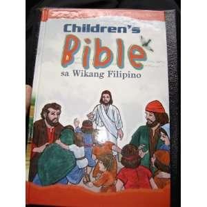 Pilipinas / Pilipino Childrens Bible (9789712907937): Philippine