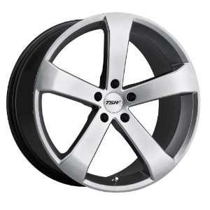 20x8.5 TSW Vortex (Hyper Silver) Wheels/Rims 5x120 (2085VOR355120S76)