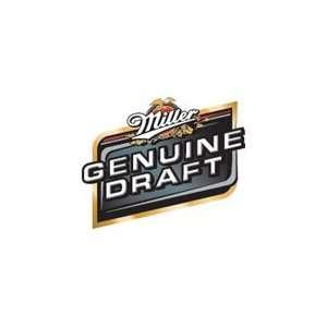 Miller Genuine Draft 6pk Cans Grocery & Gourmet Food