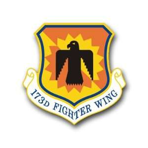 US Air Force 173rd Fighter Wing Decal Sticker 3.8 6 Pack