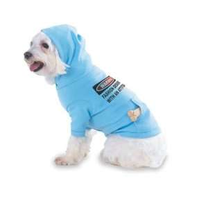 Warning Fashion Designer with an attitude Hooded (Hoody) T Shirt with