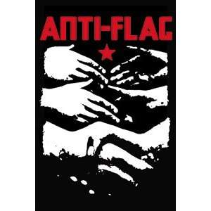 Anti Flag Hands Magnet M 1713: Kitchen & Dining
