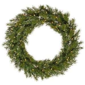 120 Augusta Pine Christmas Wreath Dura Lit 800 Multi