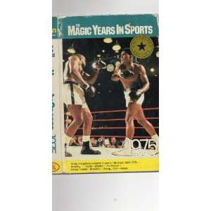 The Magic Years In Sports 1975   30 MINS VHS TAPE