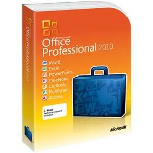 PRO 2010 DVD 32BIT/X64 INT SW. Office Suite   PC   Spanish Software