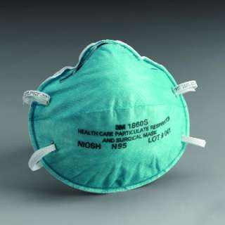 3M 1860S N95 Particulate Respirator Surgical Face Mask