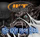 YAMAHA RAPTOR 700 700R GRAPHICS THE EXIT OF HELL WT