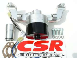 new CSR BILLET ELECTRIC SMALL BLOCK CHEVY WATER PUMP 901HV WITH