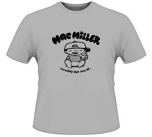 Mac Miller Cartoon Parody Rap Hip Hop T Shirt