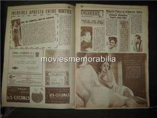 ZULMA FAIAD EN EL PERIÓDICO CON LAS TETAS AL AIRE MEXICANO 1972 DEL