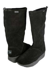 SKECHERS TONE UPS Rythm Method Suede Boots Black