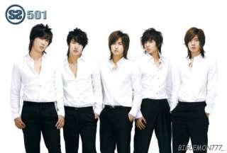 SS501 BOY BAND POSTER # 4 Kim Hyun Joong,Kim Kyu Jong