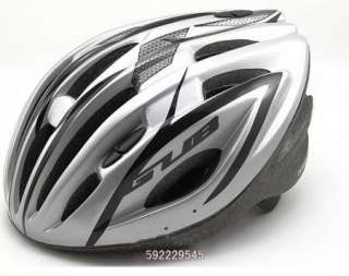 New 2011 Cycling Bicycle Adult Mens Bike Helmet Silver