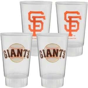 San Francisco Giants Plastic Tumbler 4 Pack  Sports