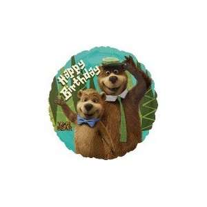 18 Yogi Bear Movie Birthday Balloon   Mylar Balloon Foil
