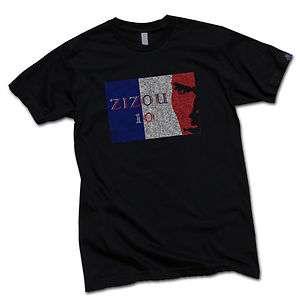 Zidane Football Soccer Jersey Shirt M L XL France