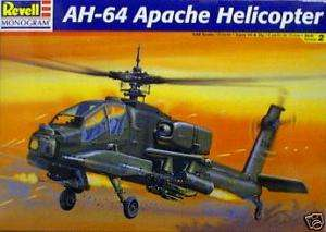 AH 64 APACHE HELICOPTER 1/48 REVELL MODEL KIT 855443