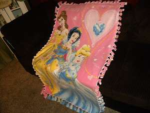 Disney Princesses Snow White, Cinderella, Belle, handmade no sew