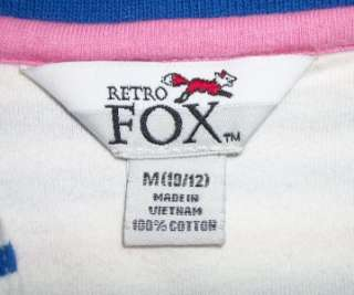 RETRO FOX POLO SHIRT retro punk 80s old vtg indie emo