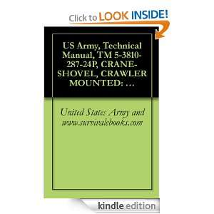 US Army, Technical Manual, TM 5 3810 287 24P, CRANE SHOVEL, CRAWLER
