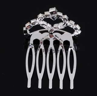 60pcs Wedding Comb Party Accessory Hair Crowns Tiara