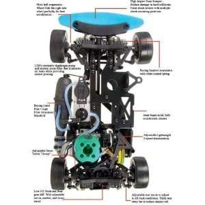 Cen CT5 90 mph Nitro 1/10 scale AWD radio control car