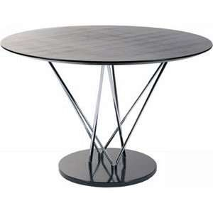 Euro Style Stacy Round Dining Table Furniture & Decor