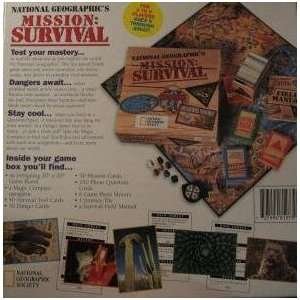 Survival National Geographics Action Adventure Board Game Toys