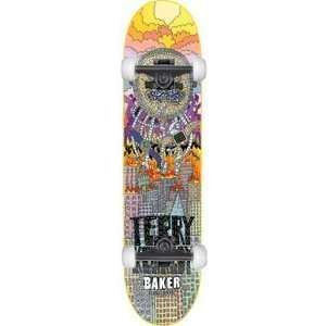 Baker Kennedy Super Jack Complete Skateboard   7.75 w
