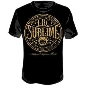 New Sublime Long Beach California LBC Logo T shirt top
