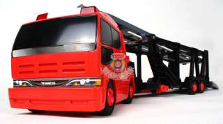 NEW TOMICA HYPER RESCUE LONG CARRIER TRUCK FOR 14 CARS