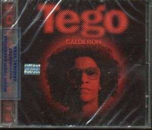 TEGO CALDERON, EL ABAYARDE. FACTORY SEALED CD. IN SPANISH.