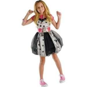 Montana  Pink with Polka Dots Dress Child Costume