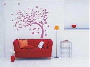 Wallpaper Graffiti Wall/ Glass Sticker Decal TREE I