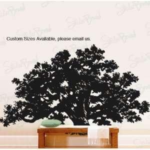 Vinyl Wall Decal Sticker Huge Oak Tree 60x100