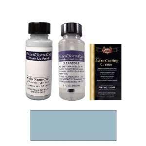 1 Oz. Light Wedgewood Blue Metallic Paint Bottle Kit for