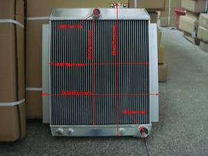 56mm aluminum radiator 1948 1954 1947 1948 1949 1950 1951 CHEVY TRUCK