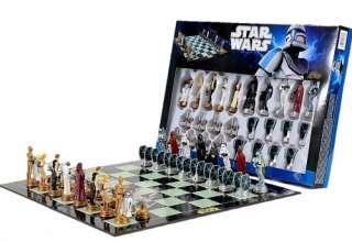 STAR WARS CLASSIC   MERCHANDISE   CHESS SET / GAME