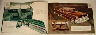 1953 CHEVROLET ADVERTISING SALES COLOR BROCHURE BOOKLET