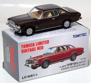 TOMICA TOMY VINTAGE LV N61b TOYOTA CROWN 2 DOOR HT 1  64