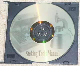 How to use STAKING TOOLS CD watchmaking repairs vintage