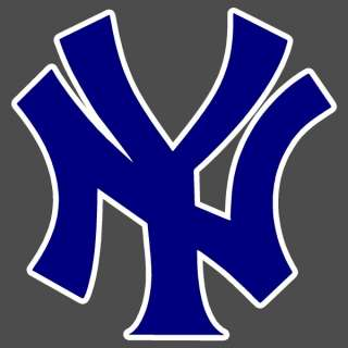 New York Yankees Cap Logo Auto Car Window Sticker Decal