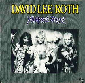David Lee Roth 45 rpm & PS 28656 Yankee Rose / Shyboy