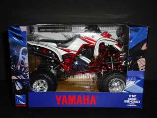 NewRay Yamaha Raptor 660R ATV 2005 1/12