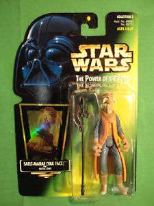 Star Wars Kenner Yak Face Action Figure Carded New