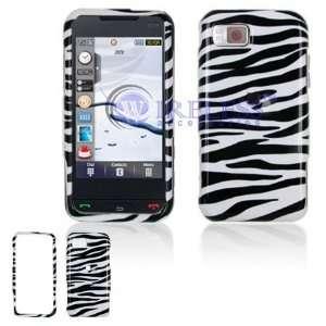 Samsung Eternity A867 Cell Phone Black/White Zebra Design
