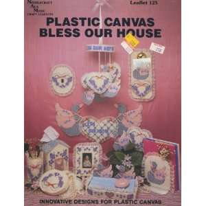 Plastic Canvas Bless Our House (Needlecraft Ala Mode Craft