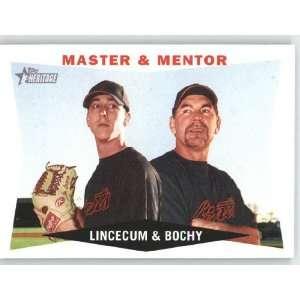 Tim Lincecum / Bruce Bochy / San Francisco Giants   2009