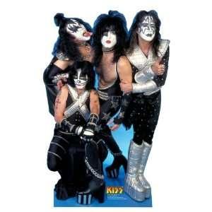 Kiss   Rock Band   Life Size Standup 6 tall (1 per